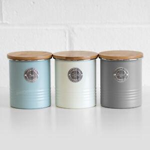 details sur metal the cafe sucre de rangement cuisine boites set boites pots conteneurs afficher le titre d origine