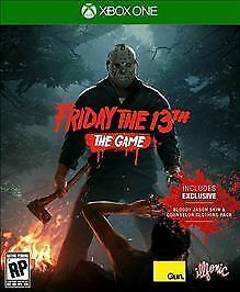Friday the 13th  The Game  Microsoft Xbox One  2017    eBay Friday the 13th  The Game  Microsoft Xbox One  2017
