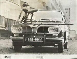 Renault R 16 1965 Werkfoto Photo Photography Press Photo Photographer Car
