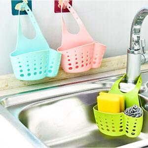 details about silicone sponge holder sink caddy soap storage basket for kitchen organizer us