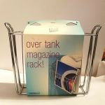 Interdesign Classico Newspaper And Magazine Rack For Bathroom Storage Over The For Sale Online Ebay