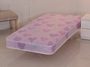 Image Is Loading Pink Luxury Budget Mattress All Sizes Shorty Single