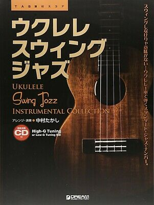 UKULELE / Swing JAZZ ARRANGED SCORE BOOK 9784865712223 | eBay