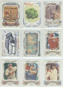 2015 ALLEN GINTER VARIOUS INSERTS YOU PICK $1.49-$1.99 OVER 100 IN STOCK