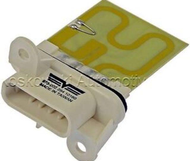Image Is Loading Chevy Cavalier Heater Blower Motor Resistor Pontiac Sunfire
