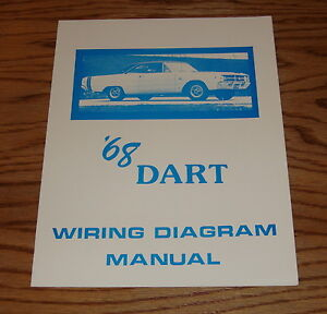 1968 Dodge Dart Wiring Diagram Manual 68 | eBay