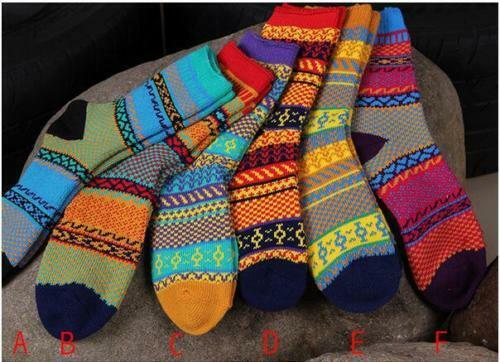 5-Pairs-Womens-Wool-Cashmere-Warm-Soft-Casual-Multicolor-Thick-Winter-Socks
