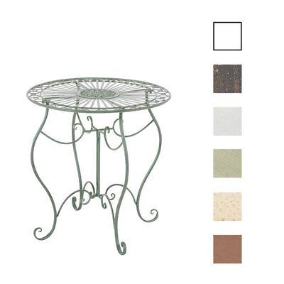 table ronde de jardin indra fer forge diametre 70 cm table d exterieur terrasse ebay