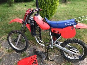 Honda cr 80 barn find