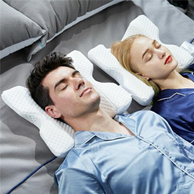 arm cuddling curved memory foam pillow