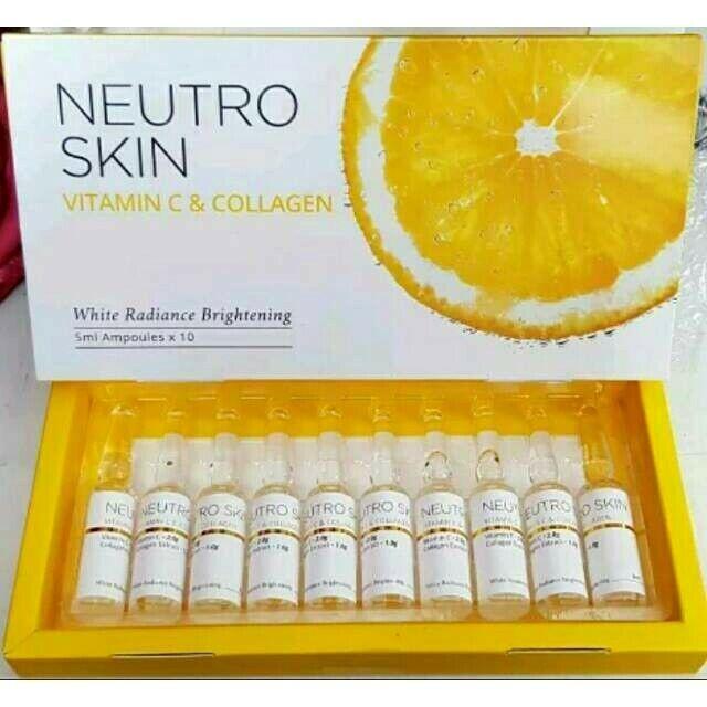 Collagen Vitamin C Skin Whitening Face Smooth Anti Aging Wrinkles Dark Sport