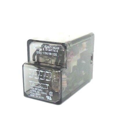 Tyco Potter Amp Brumfield Khau 17a11n 120 Relay 120v 50