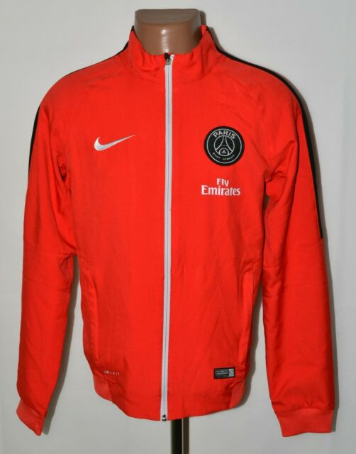 psg paris saint germain 2016 2017 training football jacket nike size s adult