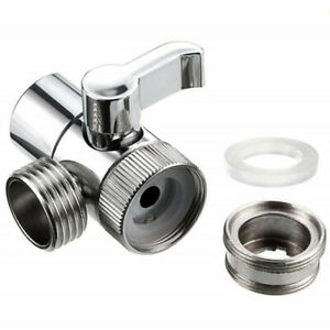 details about water tap 2 way valve faucet for automatic washing machine inlet pipe adapter s2