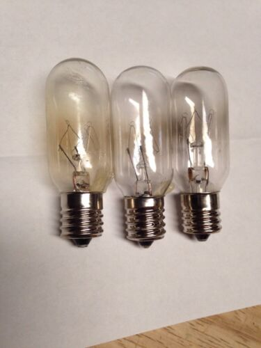 3 ge general electric microwave oven light bulbs wb36x10003 3 pack major appliances microwave parts accessories