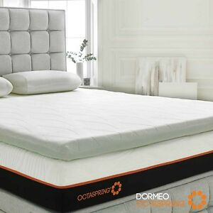 Image Is Loading Dormeo Octaspring Body Zone Mattress Topper King Size