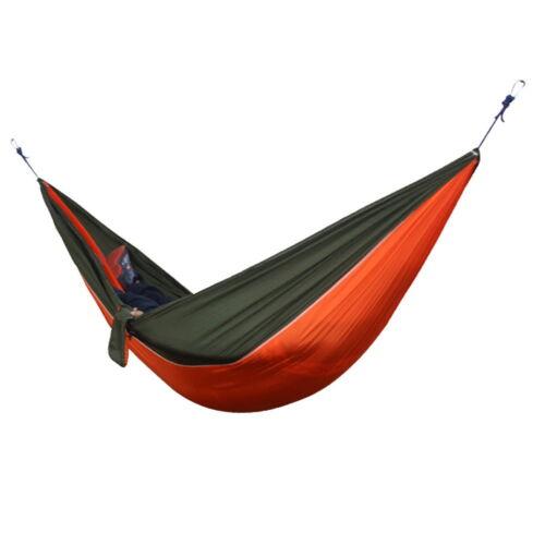 hamac 2 personnes jardin sport loisirs camping randonnee plein air voyage kit