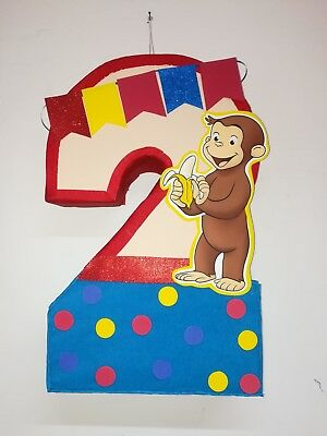 George The Curious Number 2 Curious George Birthday Party Party Supplies Ebay