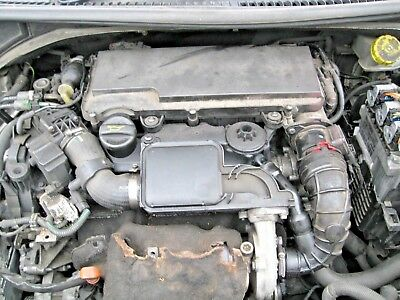 2009 Peugeot 207 1 4 Hdi Diesel Engine Dv6td4 8hz Code 72 000miles Ebay