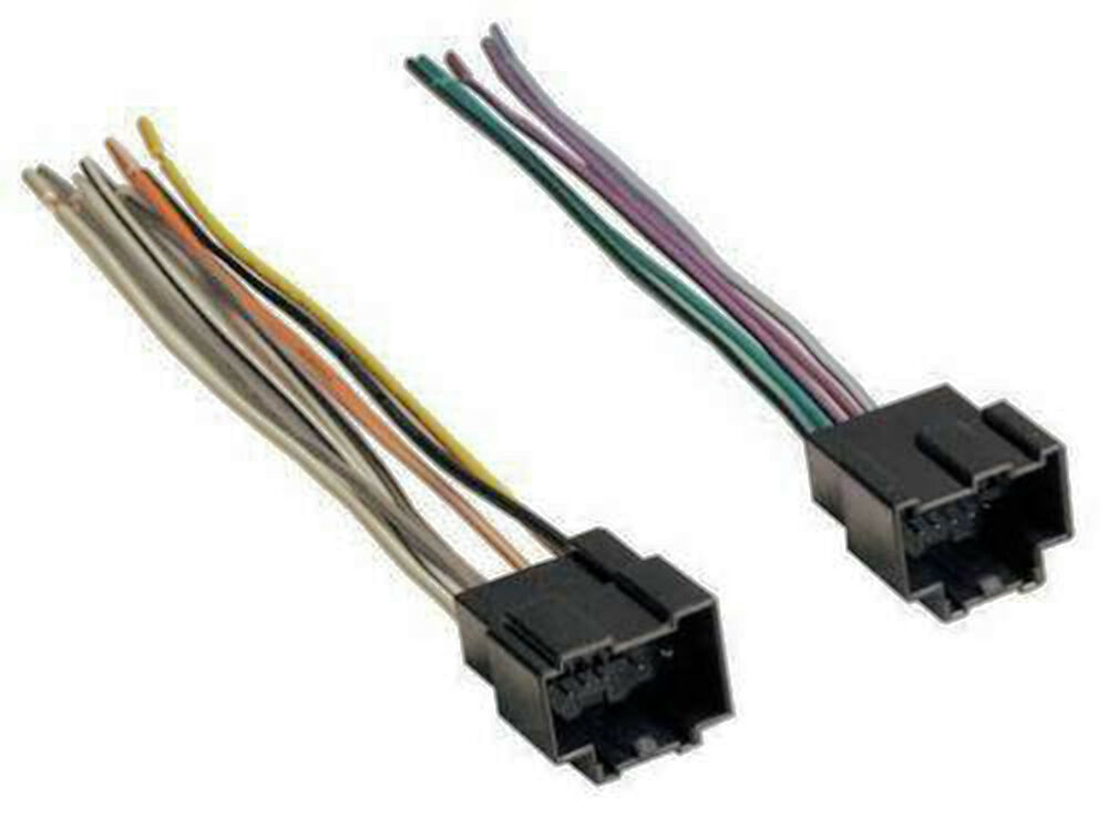 Chevy Gm Wire Harness For Replacing Stereo Gwh 406pio