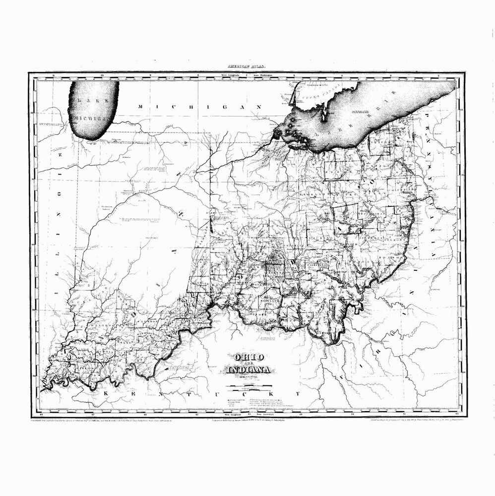 Lake Map Ohio Chippewa