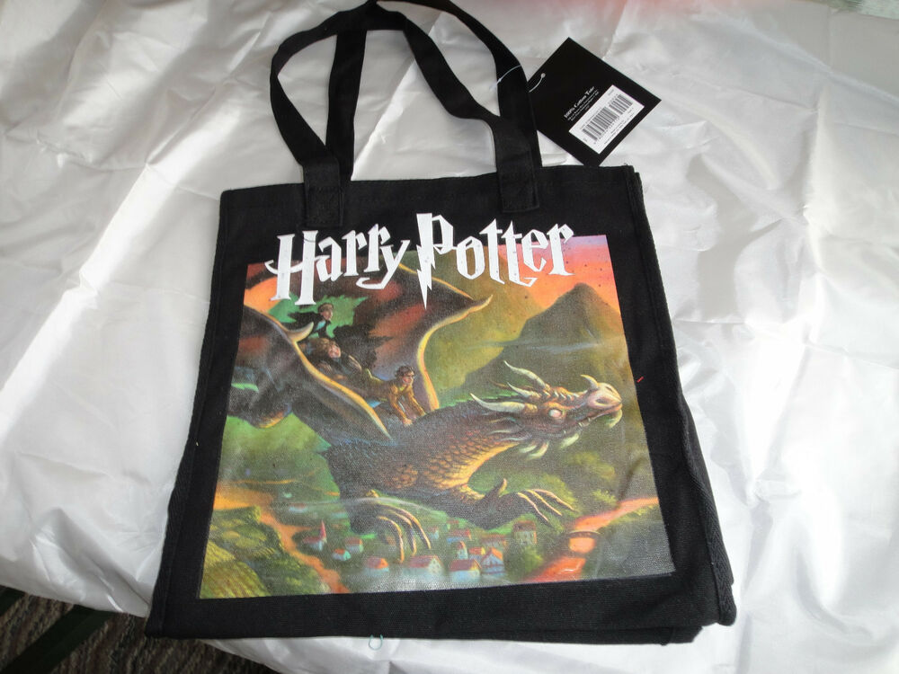 NEW HARRY POTTER TOTE BAG BARNES AND NOBLE PLATFORM AND