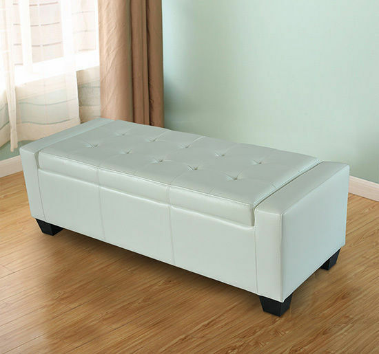 Large Storage Ottoman Bench