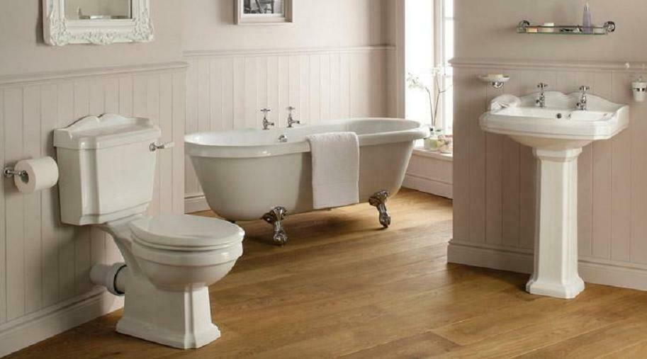 Traditional Victorian Edwardian Style Bathroom Suite Roll