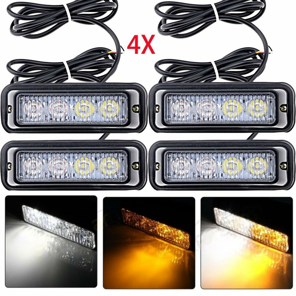 Led Emergency Strobe Lights