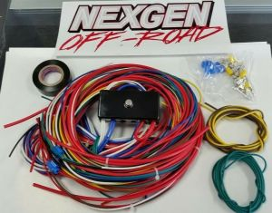 Universal Wiring Harness With Fuse Box VW DUNE BUGGY SAND