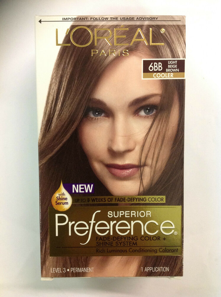 LOreal Paris Superior Preference 6BB Light Beige Brown