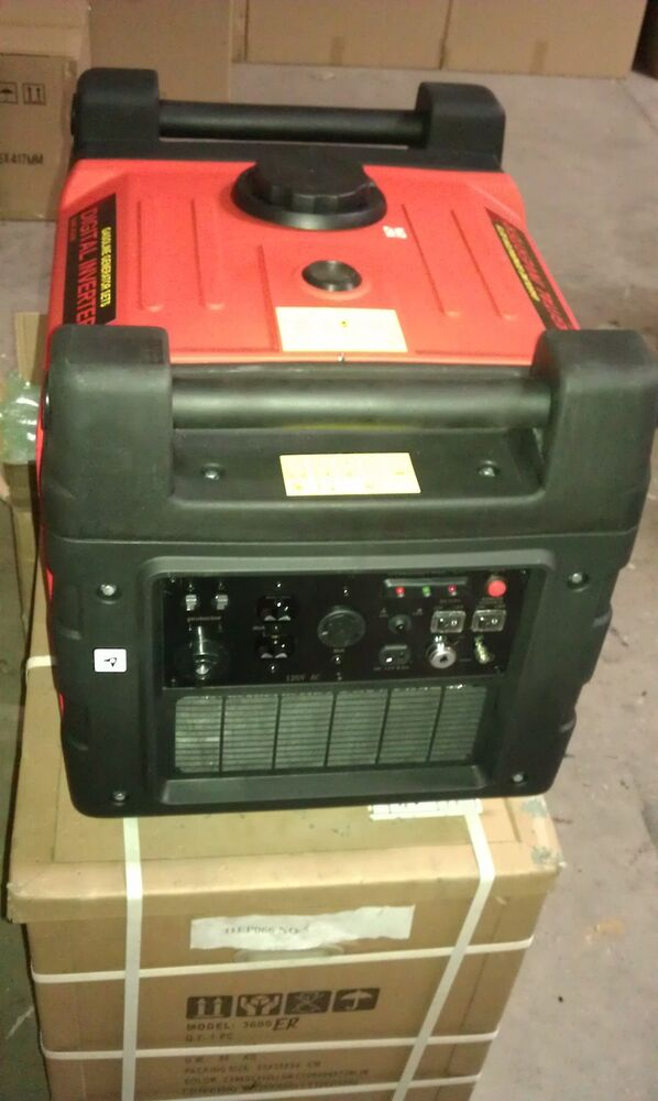 New Inverter Generator With Electric Start Amp Remote W