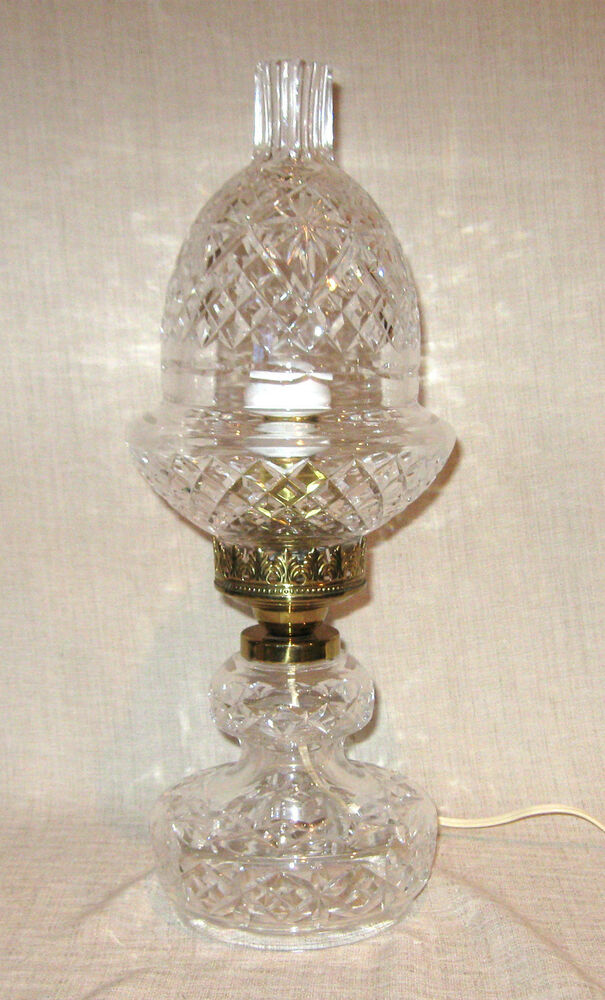 Hurricane Crystal Waterford Lamps Kilarney
