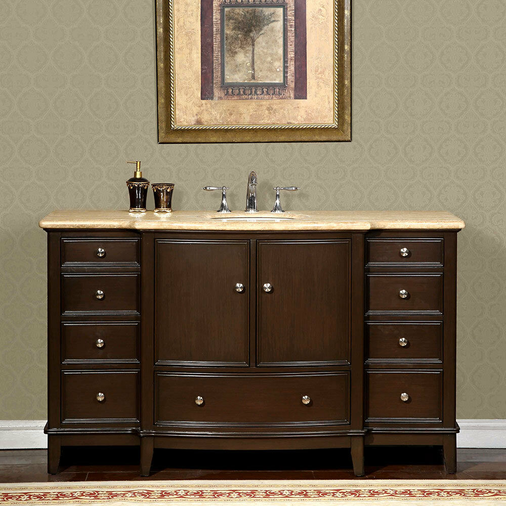 60 Inch Single Sink Bathroom Cabinet