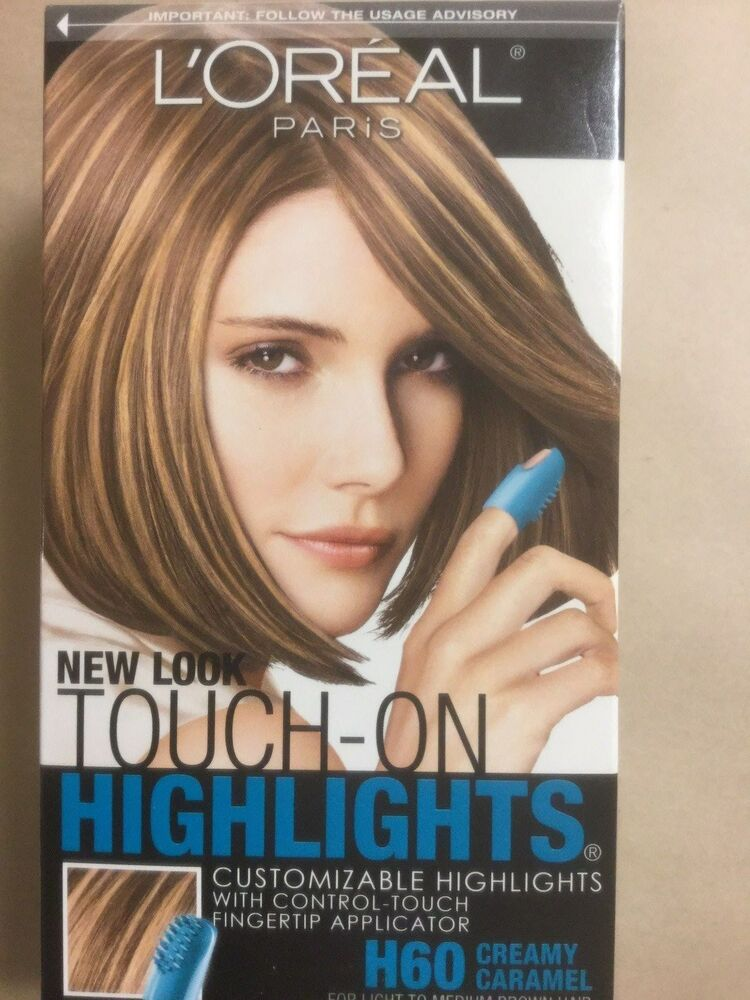 LOreal Touch On Highlights H60 Creamy Caramel Light To