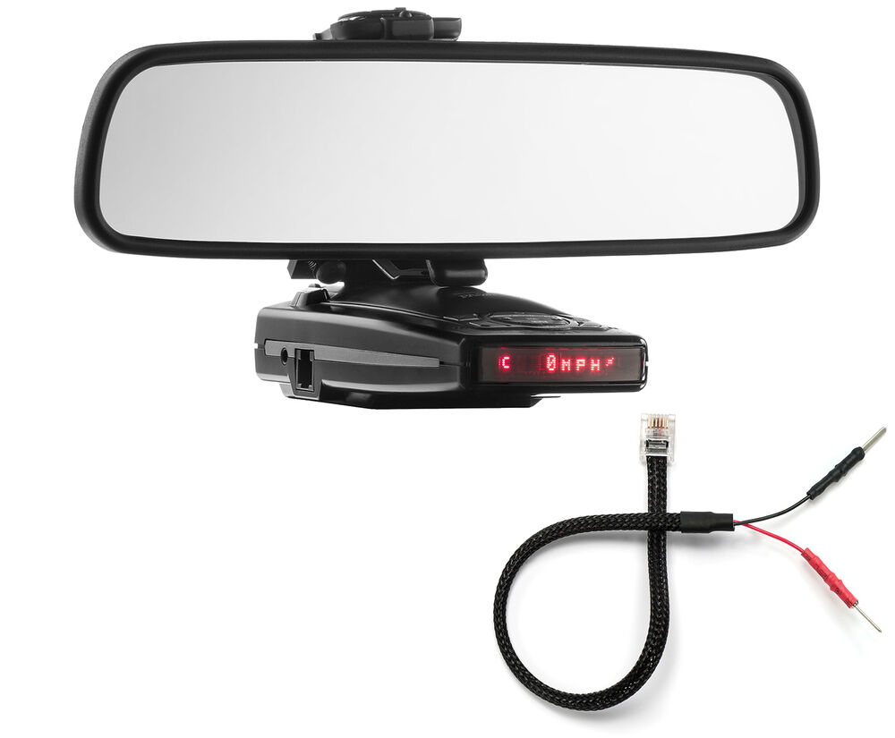 Mirror Mount Bracket Mirror Wire Cord Escort 9500ix