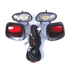 GTW EZGO Golf Cart LED Headlight & Taillight Kits fits