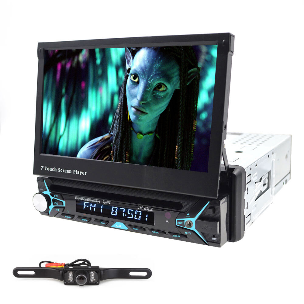 Flip Out Screen Car Stereo