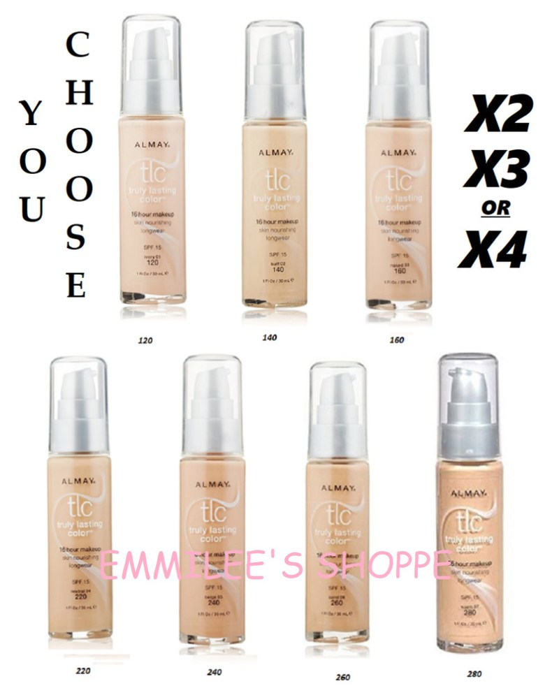 2 3 Or 4 Almay Tlc Truly Lasting Color 16 Hour Foundation Makeup