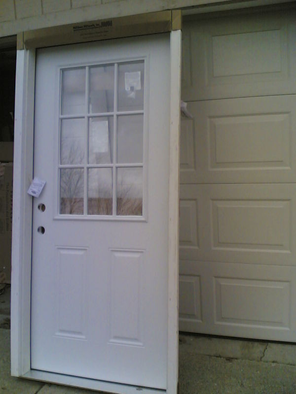 Brand New 36 Quot X80 Quot Steel Exterior Door W 9 Lite Glass