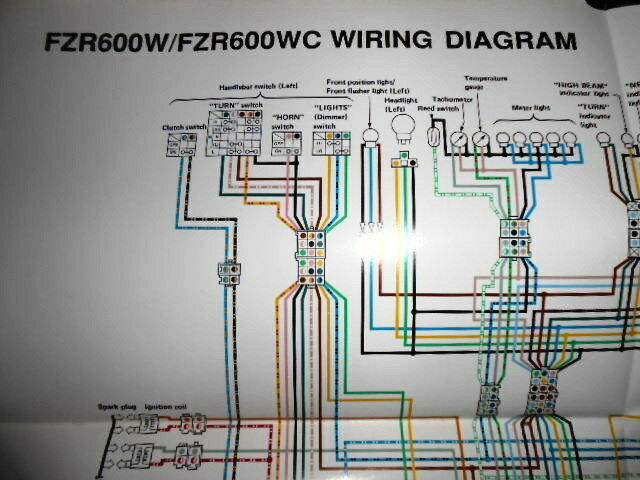 Yamaha Oem Factory Color Wiring Diagram Schematic