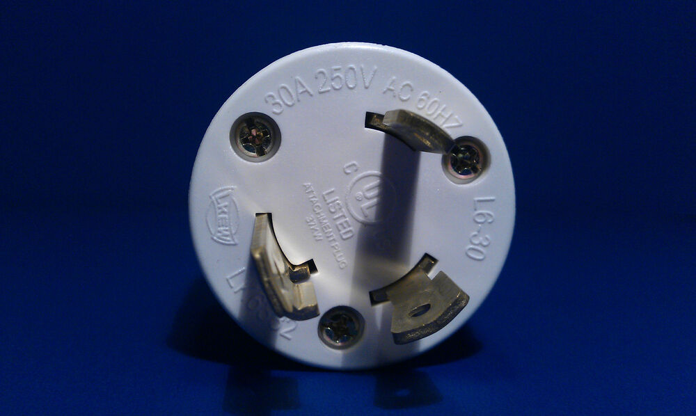 Replacement 30 Amp 250 Volt Male Twist Lock 3 Wire Power
