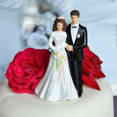 Traditional Wedding Cake Toppers
