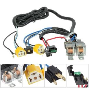 1 PC Ceramic Socket Relay Harness Wire Controller Kit For