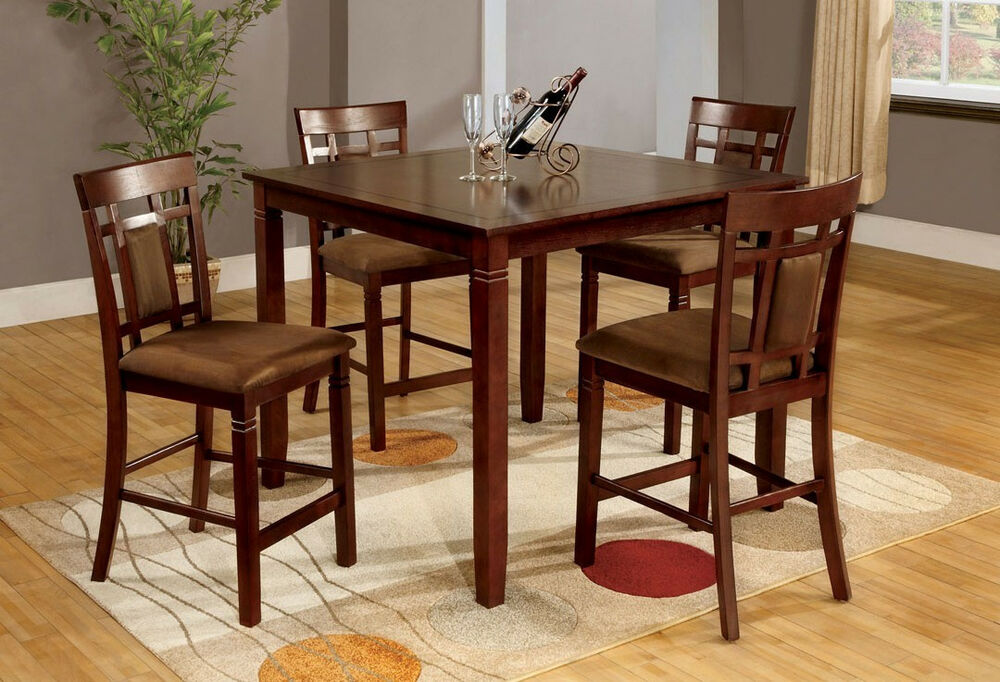 Matching Dining Room Furniture Dining Table W/ 4 Chairs In