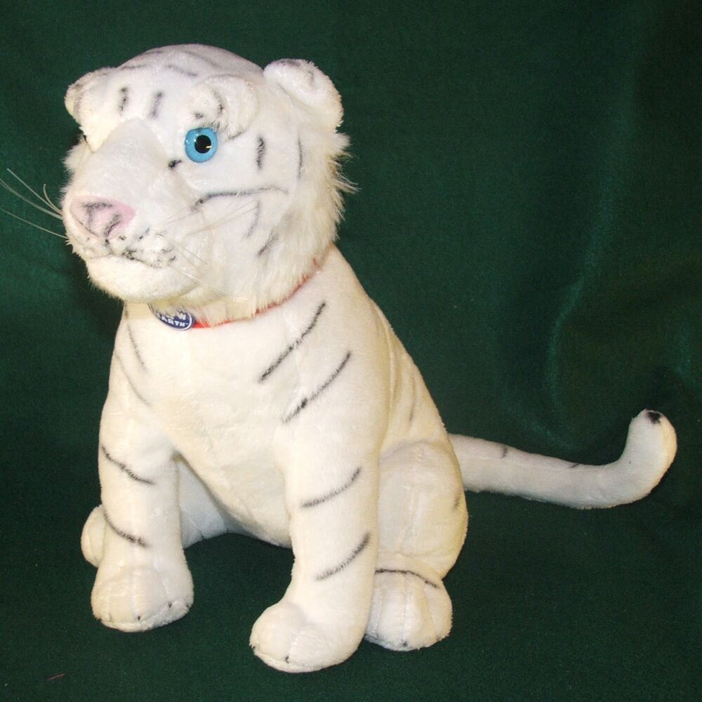 White Tiger Ringling Bros Greatest Show On Earth Plush Circus Souvenir 12 EBay