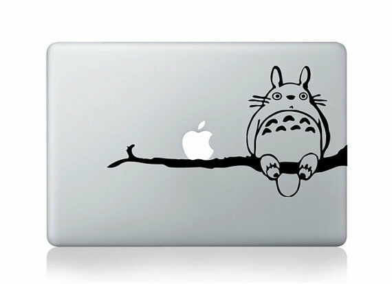 Button Apple Totoro Sticker Home
