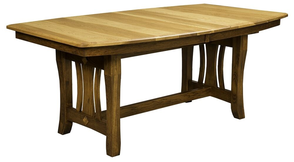 Amish Handcrafted Mission Hearthside Rectangle Dining