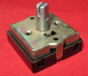 Tower Mfg Rotary Switch 4 Position, 120V  240V, 3A 6A Fan