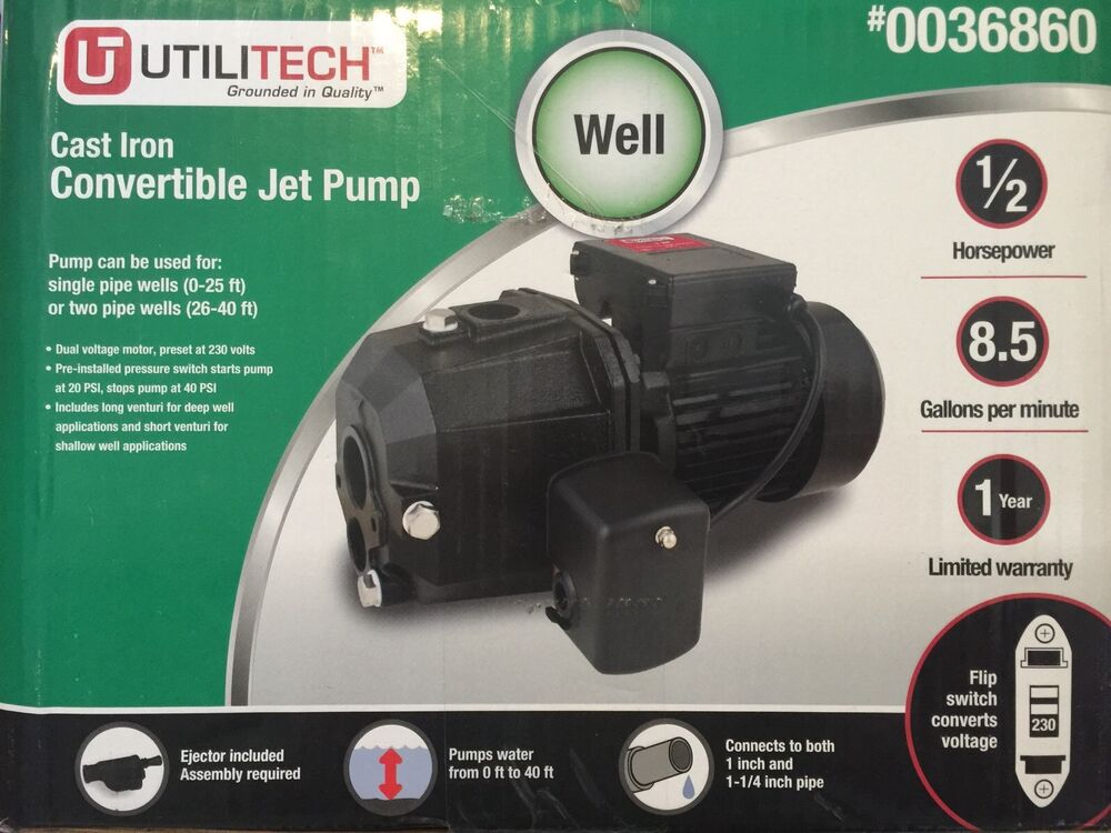 Pump Hp 1 Lowes Well